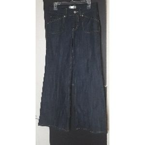 Tex by Max Azria Navy Cut Jeans size 27